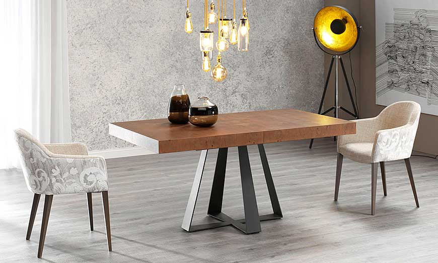 Novedades de mesas de centro de comedor de muebles INAC
